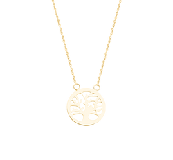 Tree of Life Necklace - Michael E. Minden Diamond Jewelers