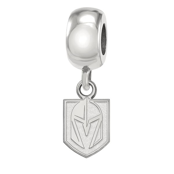 Vegas Golden Knights Dangle Charm - Michael E. Minden Diamond Jewelers