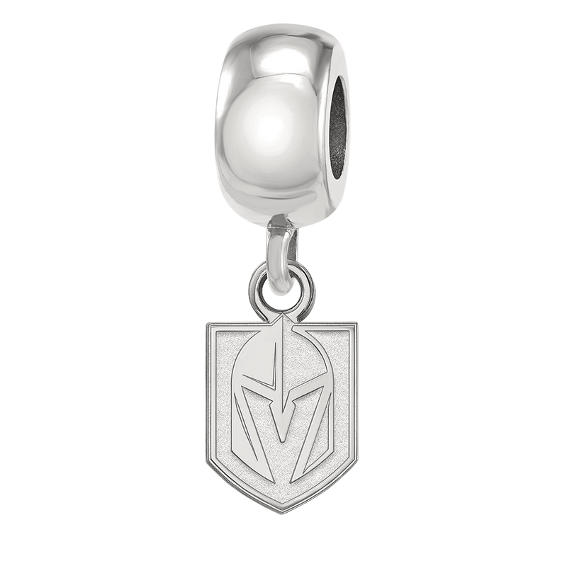 Vegas Golden Knights Dangle Bead Charm - Michael E. Minden Diamond Jewelers
