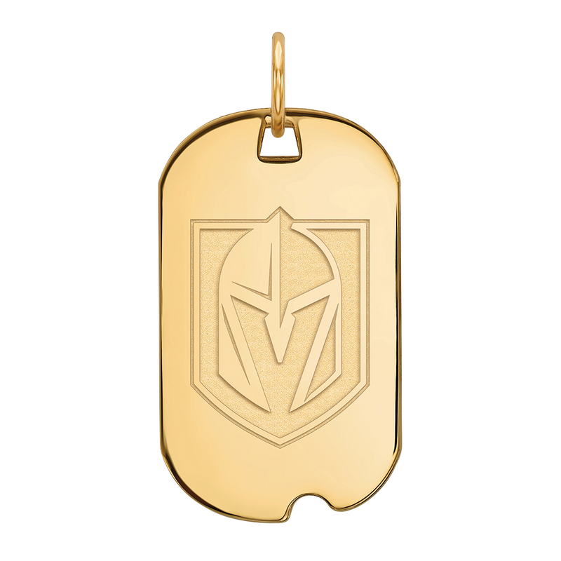 VGK Sterling Silver Dog Tag - Michael E. Minden Diamond Jewelers