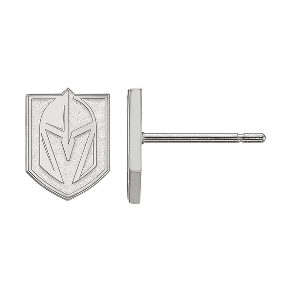 VGK Sterling Silver Earring Studs - Michael E. Minden Diamond Jewelers