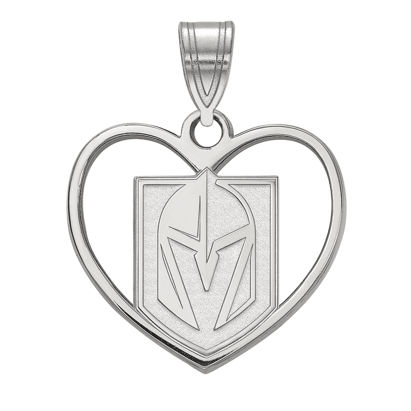 VGK Sterling Silver Heart Pendant - Michael E. Minden Diamond Jewelers