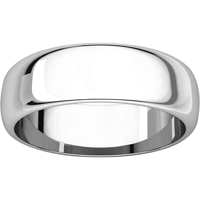 Classic Round Men's Wedding Ring - Michael E. Minden Diamond Jewelers