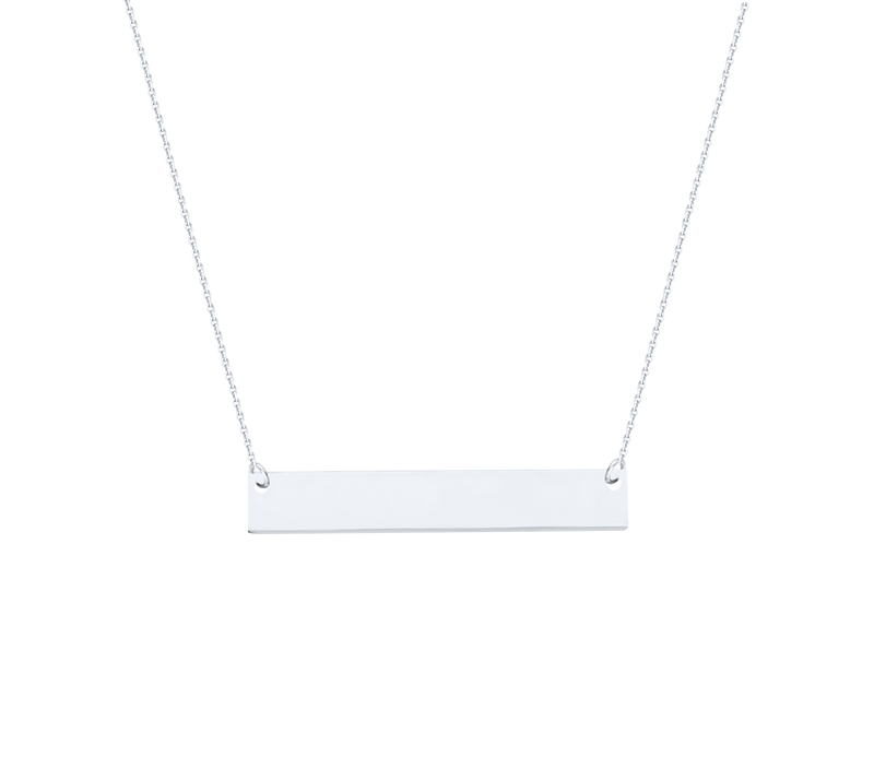 Mini Bar Necklace - Michael E. Minden Diamond Jewelers