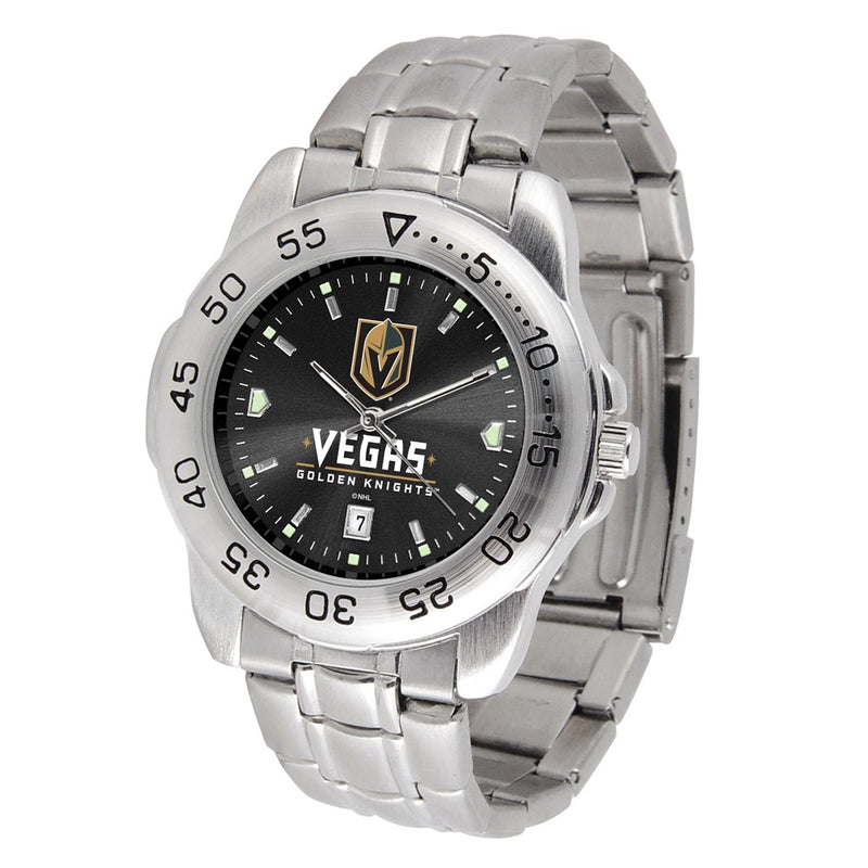 Vegas Golden Knights Sports Steel Watch - Michael E. Minden Diamond Jewelers