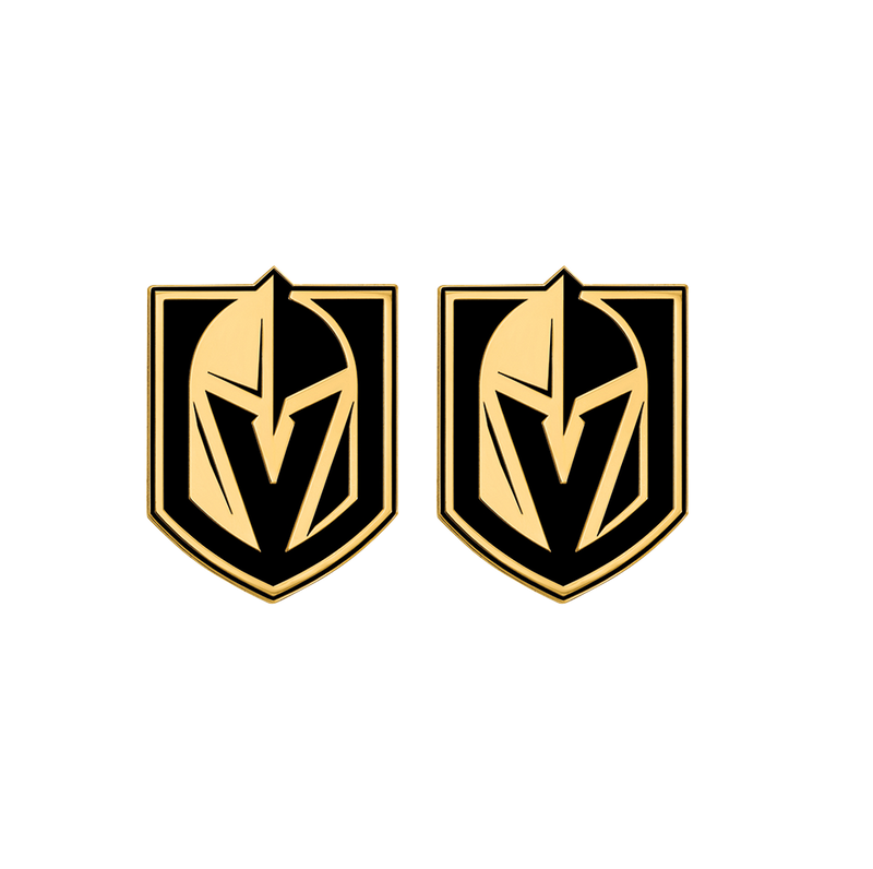Vegas Golden Knights Enamel Cuff Links