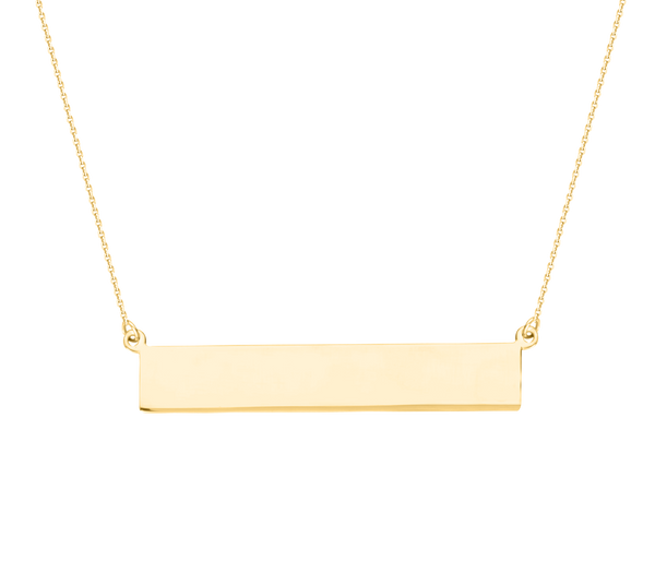Bar Necklace - Michael E. Minden Diamond Jewelers