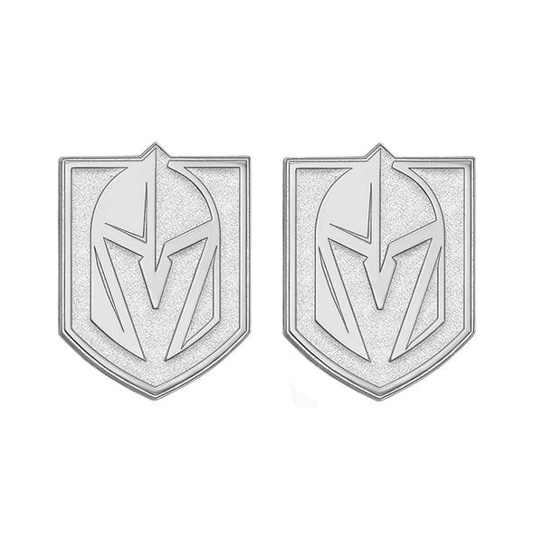 VGK Large Sterling Silver Cuff Links - Michael E. Minden Diamond Jewelers