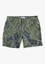 Slim Swim Short - Palm Print