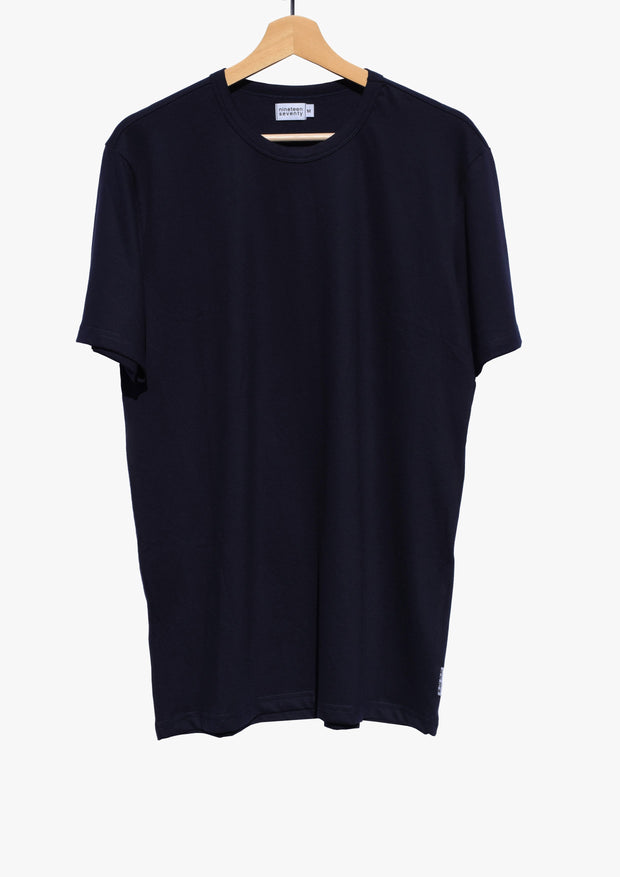 Piqué T-Shirt - Dark Blue