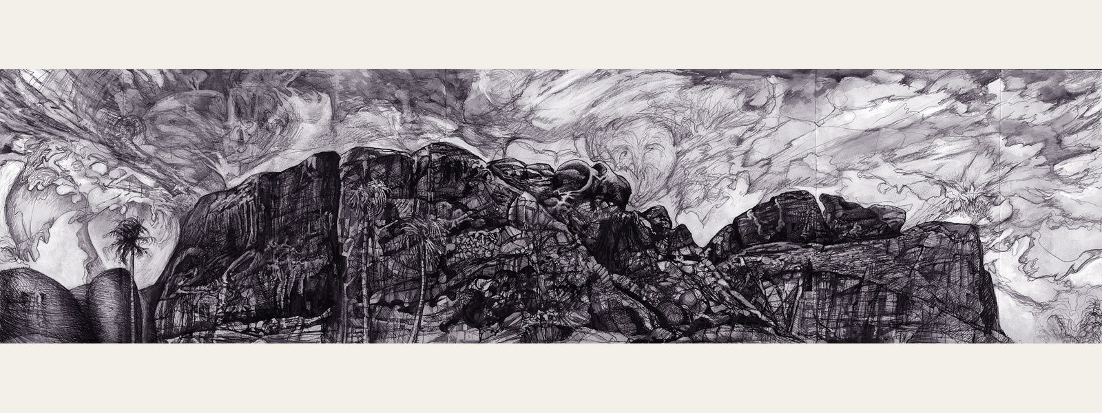 CAMELBACK, Etching: Limited Edition of 20