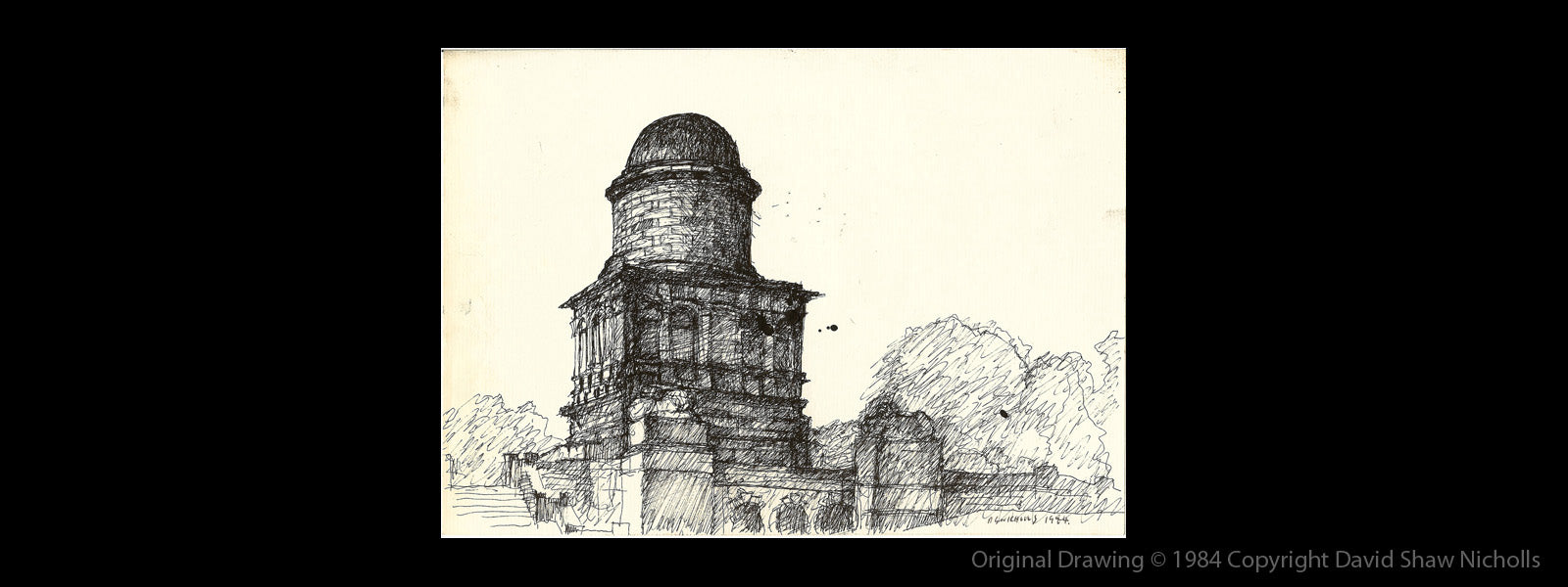 HAMILTON MAUSOLEUM, Drawing