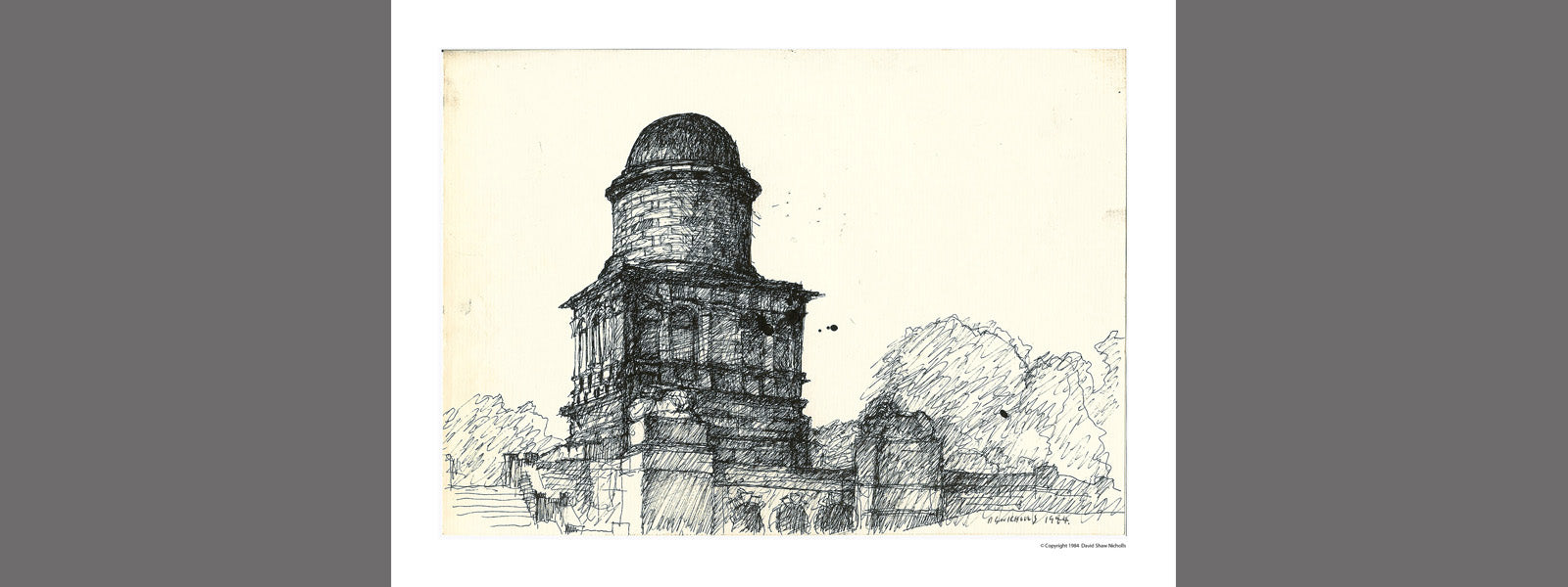 HAMILTON MAUSOLEUM, Printworks: Limited Edition of 20