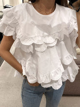 Load image into Gallery viewer, Layered Ruffled Doll Blouse