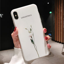 Load image into Gallery viewer, Spring Floral Silicone iPhone Case