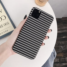 Load image into Gallery viewer, Black+White Monochrome iPhone Case