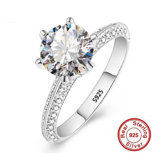 Cute CZ Diamond Ring