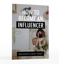 Load image into Gallery viewer, How to Become an Influencer // Instant Download eBook