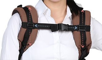 Pognae Baby Carrier adjustable straps