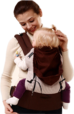 Pognae Baby Carrier sleeping hood picture 1