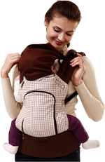 Pognae Baby Carrier sleeping hood picture 2