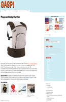 GASP! Pognae Baby Carrier Highlight