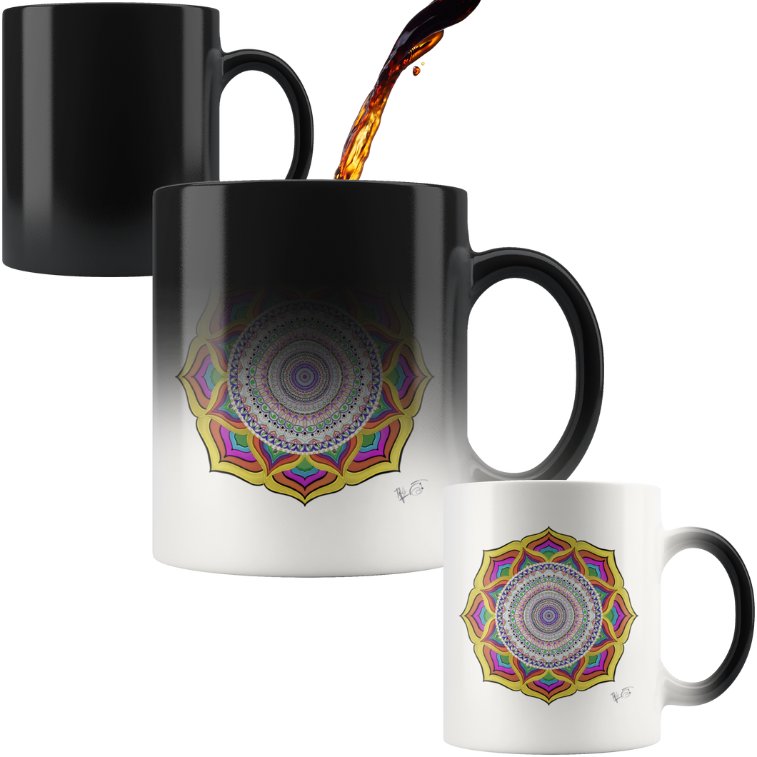 Grace Mandala Magic Mug