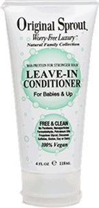 Original Sprout Leave In Conditioner. Protective Conditioning Treatment for Damaged and Delicate Hair. 4 Ounce