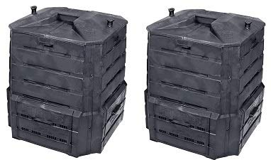 Algreen Products Soil Saver Classic Compost bin (2-(Pack))