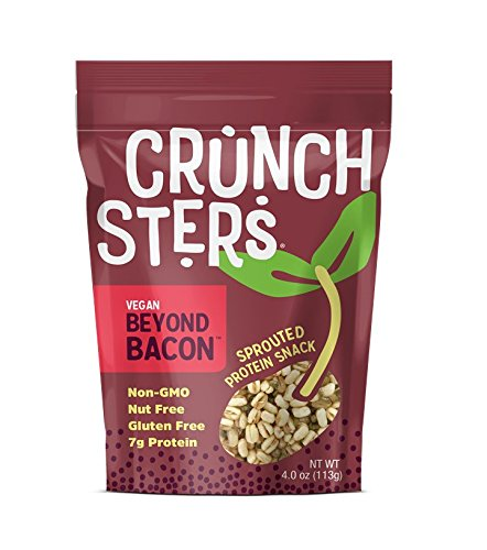 Crunchsters Beyond Bacon Protein Snack, 4 Oz