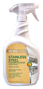 ECOS PRO Stainless Steel Cleaner and Polish (Pack of 6)