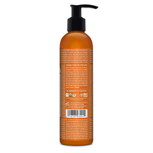 Dr. Bronner's & All-One Organic Lotion for Hands & Body, Orange Lavender, 8-Ounce Pump Bottle