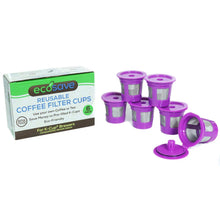 Load image into Gallery viewer, Eco-Save Reusable Coffee Filter Capsules (6)