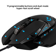 Load image into Gallery viewer, Logitech G502 HERO High Performance Gaming Mouse