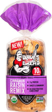 Load image into Gallery viewer, Cinnamon Raisin Remix NON GMO Bagels pack of 1