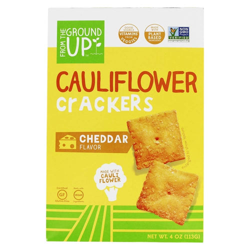 From the Ground Up - Cauliflower Crackers Cheddar - 4 oz.