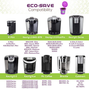 Eco-Save Reusable Coffee Filter Capsules (6)