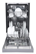 Load image into Gallery viewer, EdgeStar BIDW1802WH 18 Inch Wide 8 Place Setting Energy Star Rated Built-In Dishwasher