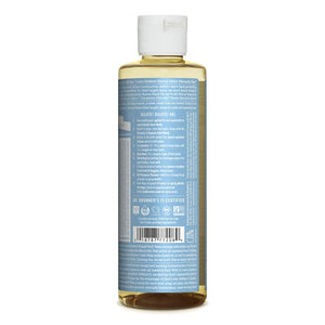 Dr. Bronner's Pure-Castile Liquid Soap - Baby Unscented - 8 Ounce