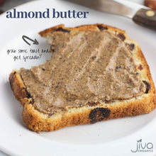 Load image into Gallery viewer, Jiva Organics RAW SPROUTED Organic Almond Butter 8-Ounce Jar