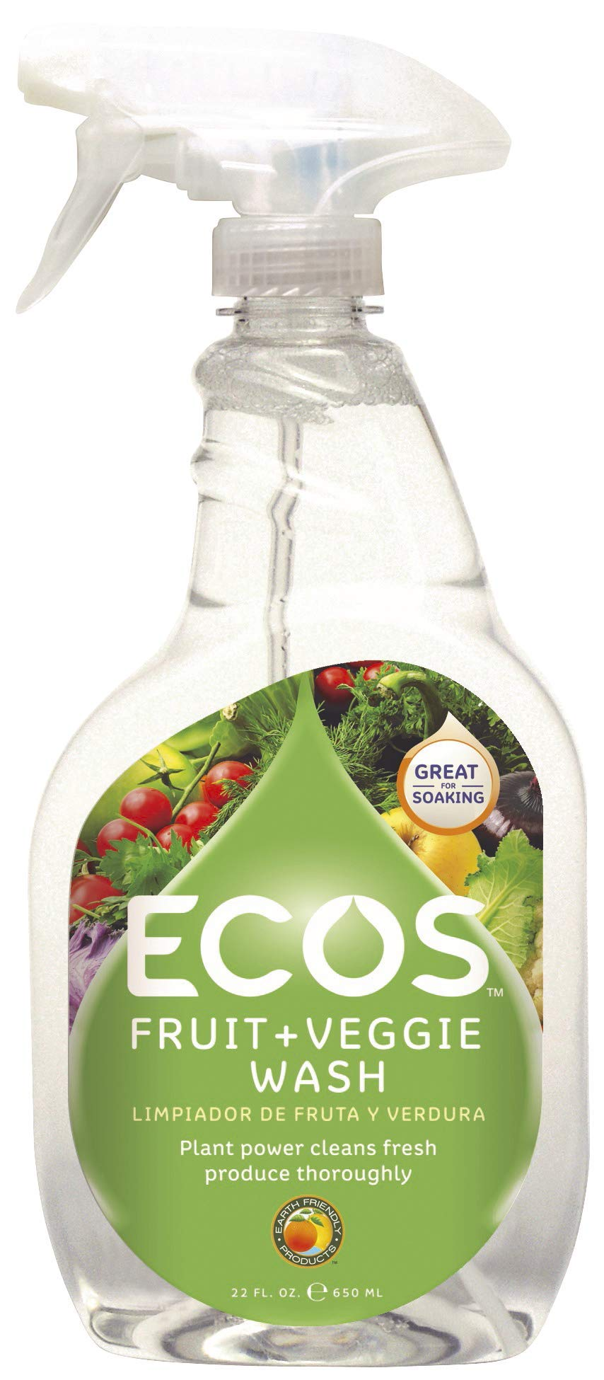 ECOS Fruit and Veggie Wash, 1 Count