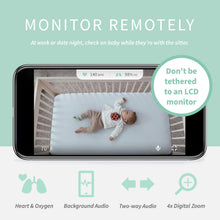 Load image into Gallery viewer, Owlet Smart Sock + Cam - Heart Rate, Oxygen, Video & Audio - The Complete Baby Monitor Solution