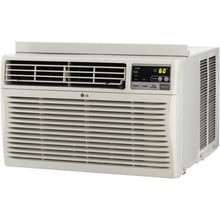 Load image into Gallery viewer, LG 24,500 BTU Eco-Friendly Window Mounted Air Conditioner, (230-Volt Plug), with 3 Cooling and 3 Speed Modes, 12-Hour On/Off Timer, Easy Clean Mesh Filter, Energy Saver Function with Eco Friendly R410A Refrigerant, Fully Functional Remote Included, Perfec