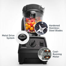 Load image into Gallery viewer, Vitamix Explorian Blender, Professional-Grade, 64 oz. Low-Profile Container, Black (Renewed)