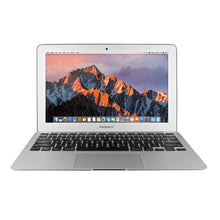 Load image into Gallery viewer, Apple MacBook Air MJVM2LL/A 11.6-Inch laptop(1.6 GHz Intel i5, 128 GB SSD, Integrated Intel HD Graphics 6000, Mac OS X Yosemite (Renewed)