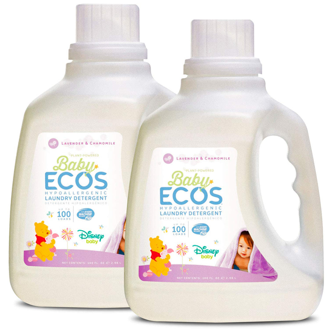 ECOS Baby Disney Laundry Detergent,  Lavender and Chamomile (Pack of 2)