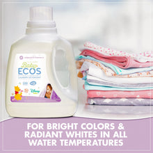 Load image into Gallery viewer, ECOS Baby Disney Laundry Detergent,  Lavender and Chamomile (Pack of 2)