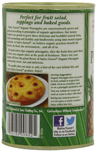 Load image into Gallery viewer, Native Forest Organic Pineapple Slices, 15 Ounce Cans (Pack of 6)