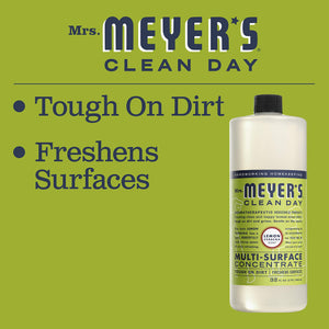 Mrs. Meyer's Clean Day Multi-Surface Concentrate, Lemon Verbena, 32 fl oz, 2 ct