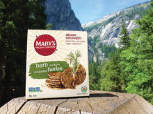 Load image into Gallery viewer, Mary's Gone Crackers Herb Crackers, Organic Brown Rice, Flax & Sesame Seeds, Gluten Free, 6.5 Ounce (Pack of 1)